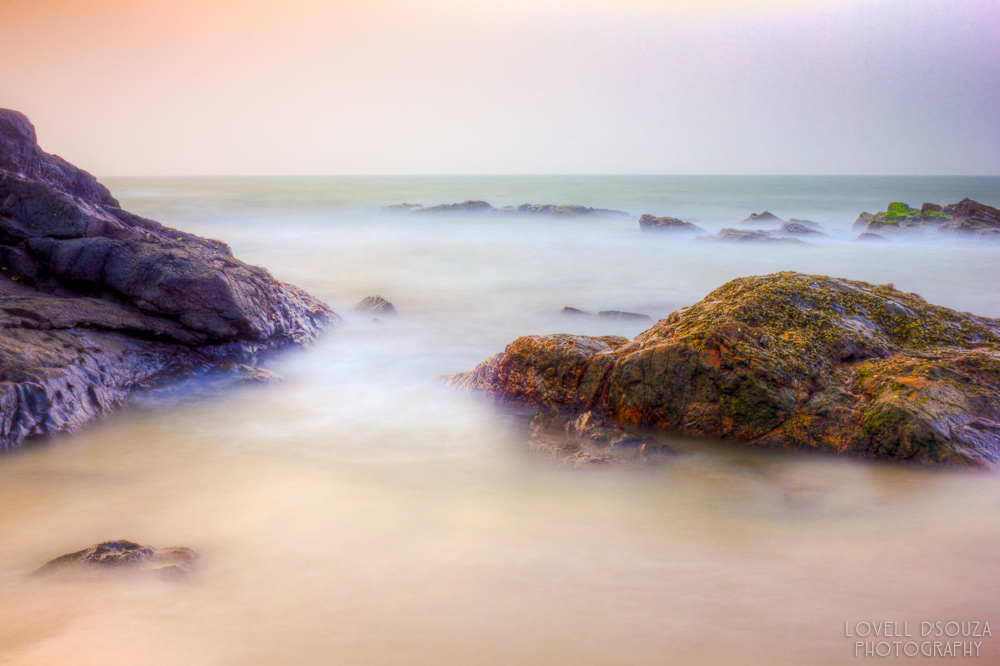 Long Exposure at the Anjuna Beach