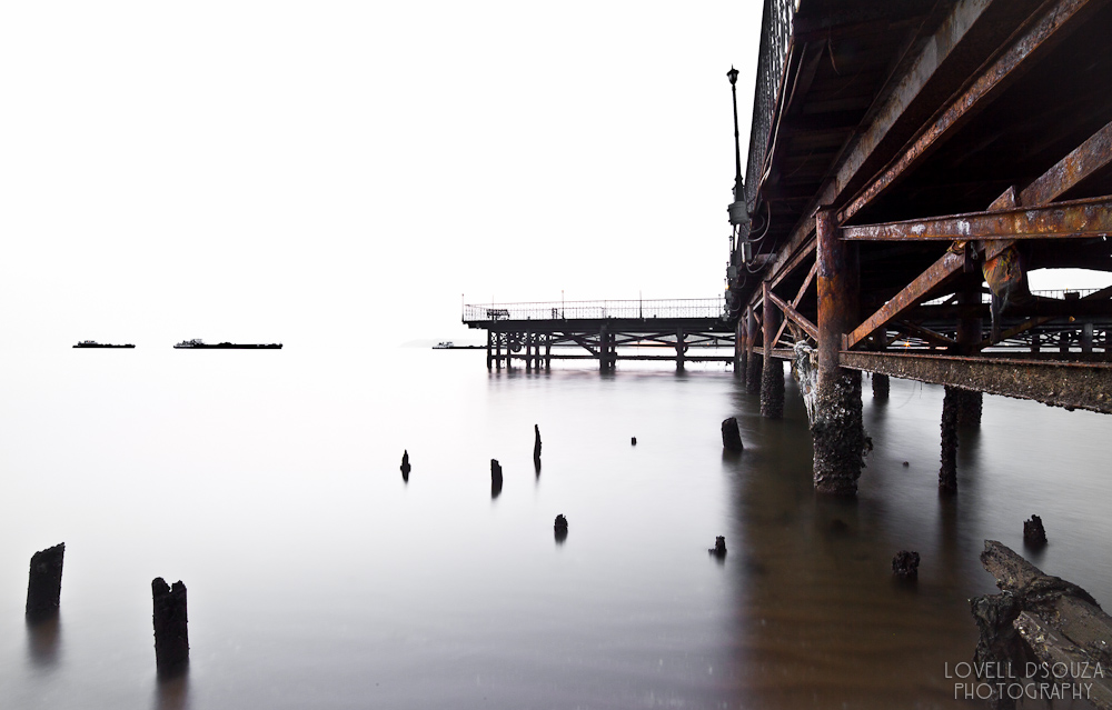 Panjim Pier (Long Exposure)