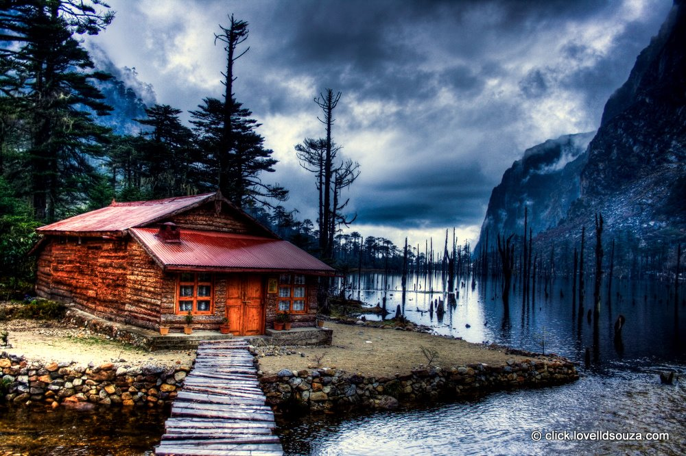 The Cabin at the Sangetsar Lake, Tawang