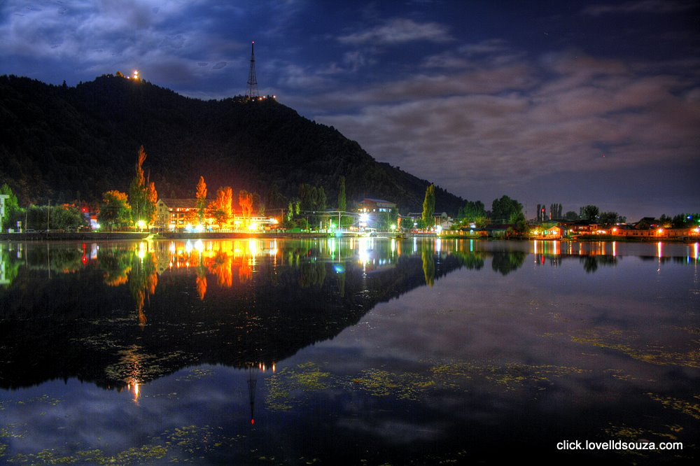 The Dal Lake at Night